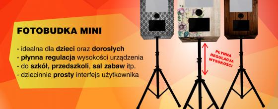 Nowy rok i nowy produkt: fotobudka MINI